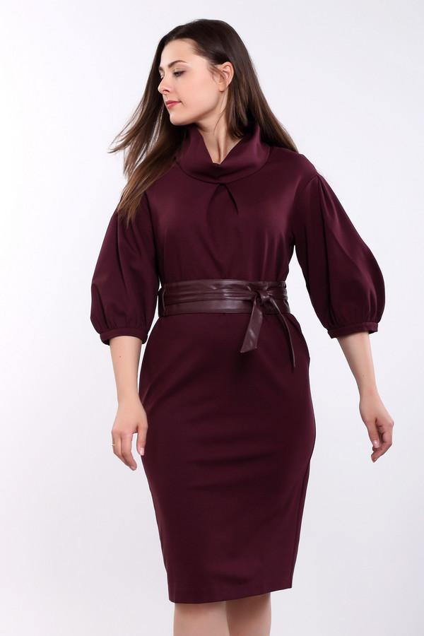 Платье ArgentПлатья<br><br><br>Размер RU: 54<br>Пол: Женский<br>Возраст: Взрослый<br>Материал: полиэстер 30%, вискоза 65%, лайкра 5%<br>Цвет: Бордовый