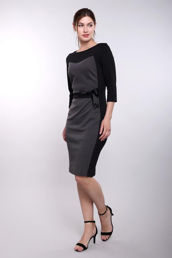 Платье ArgentПлатья<br><br><br>Размер RU: 46<br>Пол: Женский<br>Возраст: Взрослый<br>Материал: полиэстер 30%, вискоза 65%, лайкра 5%<br>Цвет: Серый