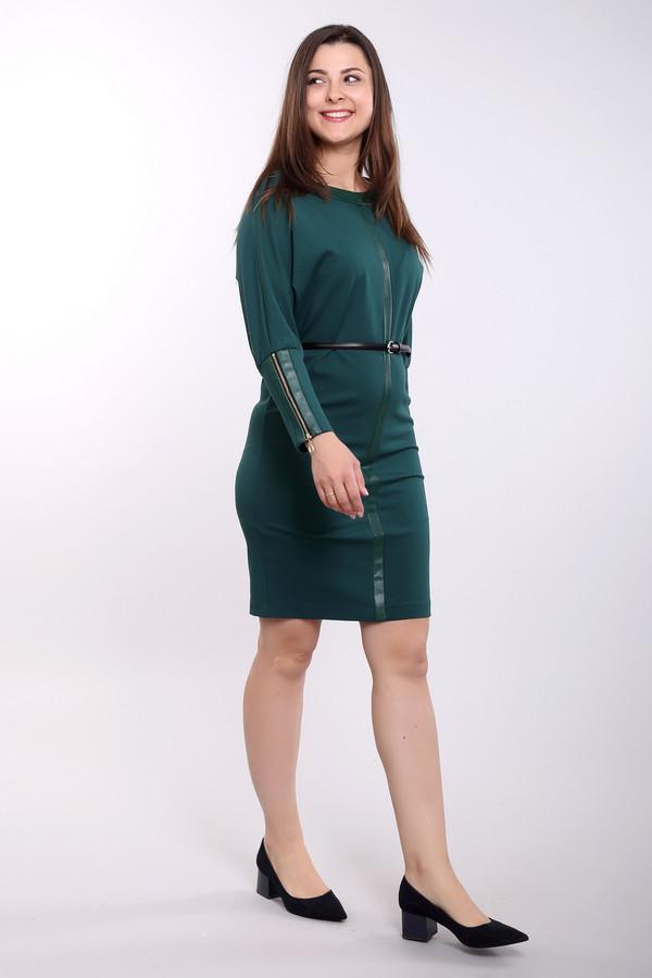 Платье ArgentПлатья<br><br><br>Размер RU: 48<br>Пол: Женский<br>Возраст: Взрослый<br>Материал: полиэстер 30%, вискоза 65%, лайкра 5%, полиуретан 100%<br>Цвет: Зелёный