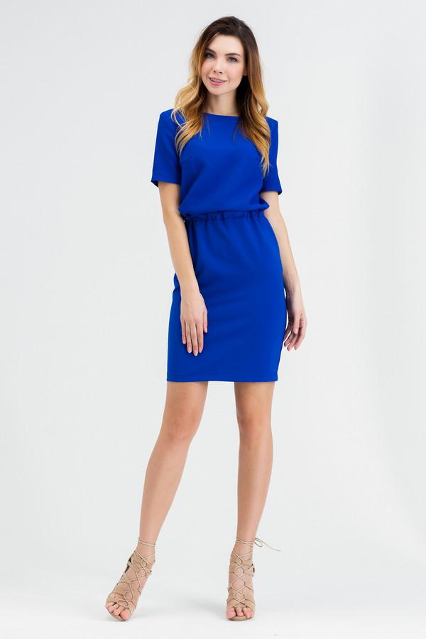 Платье XARIZMASПлатья<br><br><br>Размер RU: 52<br>Пол: Женский<br>Возраст: Взрослый<br>Материал: эластан 5%, полиэстер 40%, хлопок 55%<br>Цвет: Синий
