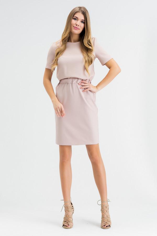 Платье XARIZMASПлатья<br><br><br>Размер RU: 52<br>Пол: Женский<br>Возраст: Взрослый<br>Материал: эластан 5%, полиэстер 40%, хлопок 55%<br>Цвет: Бежевый