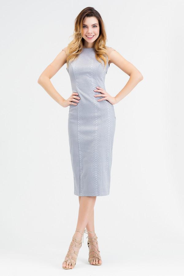 Платье XARIZMASПлатья<br><br><br>Размер RU: 46<br>Пол: Женский<br>Возраст: Взрослый<br>Материал: эластан 5%, полиэстер 25%, хлопок 70%<br>Цвет: Серый