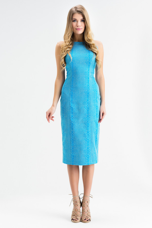 Платье XARIZMASПлатья<br><br><br>Размер RU: 46<br>Пол: Женский<br>Возраст: Взрослый<br>Материал: эластан 5%, полиэстер 25%, хлопок 70%<br>Цвет: Голубой