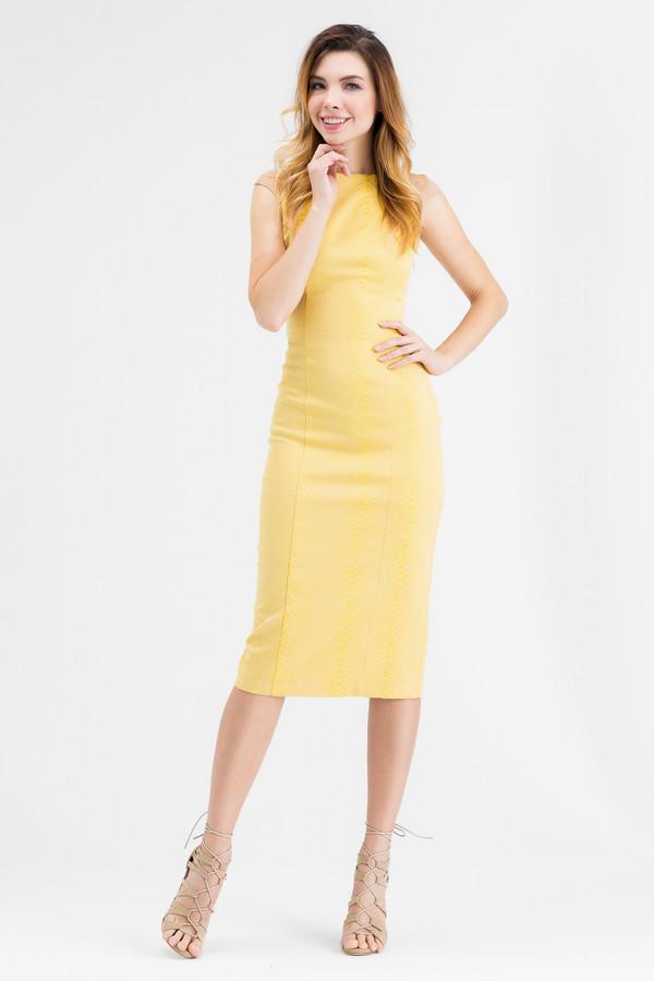 Платье XARIZMASПлатья<br><br><br>Размер RU: 42<br>Пол: Женский<br>Возраст: Взрослый<br>Материал: эластан 5%, полиэстер 25%, хлопок 70%<br>Цвет: Жёлтый