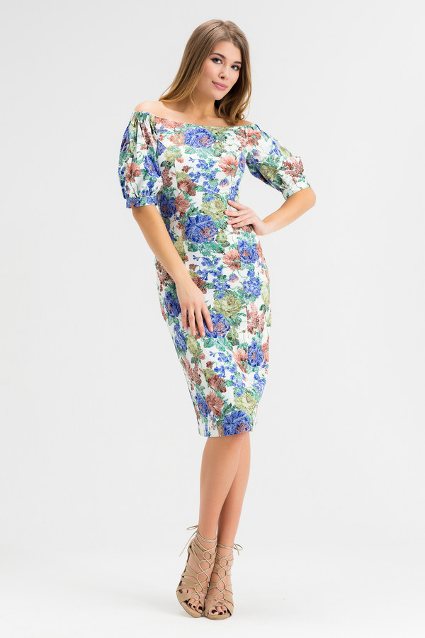 Платье XARIZMASПлатья<br><br><br>Размер RU: 50<br>Пол: Женский<br>Возраст: Взрослый<br>Материал: эластан 5%, полиэстер 25%, хлопок 70%<br>Цвет: Разноцветный