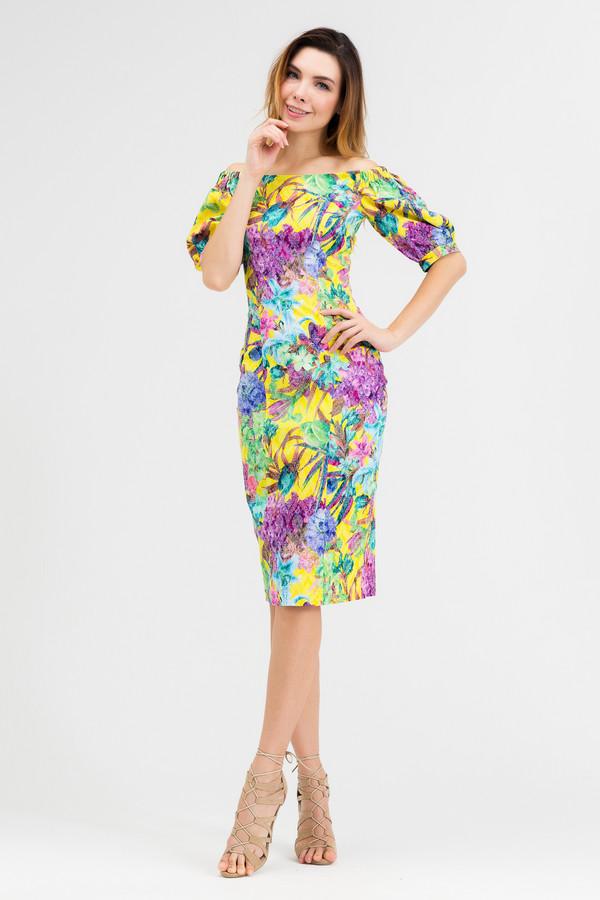 Платье XARIZMASПлатья<br><br><br>Размер RU: 42<br>Пол: Женский<br>Возраст: Взрослый<br>Материал: эластан 5%, полиэстер 25%, хлопок 70%<br>Цвет: Разноцветный