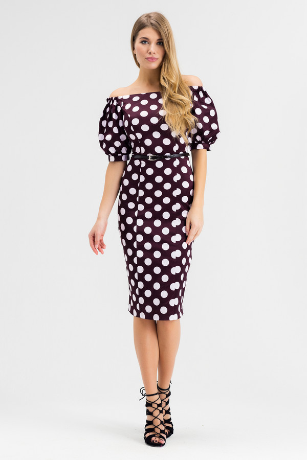 Платье XARIZMASПлатья<br><br><br>Размер RU: 42<br>Пол: Женский<br>Возраст: Взрослый<br>Материал: эластан 5%, полиэстер 25%, хлопок 70%<br>Цвет: Белый