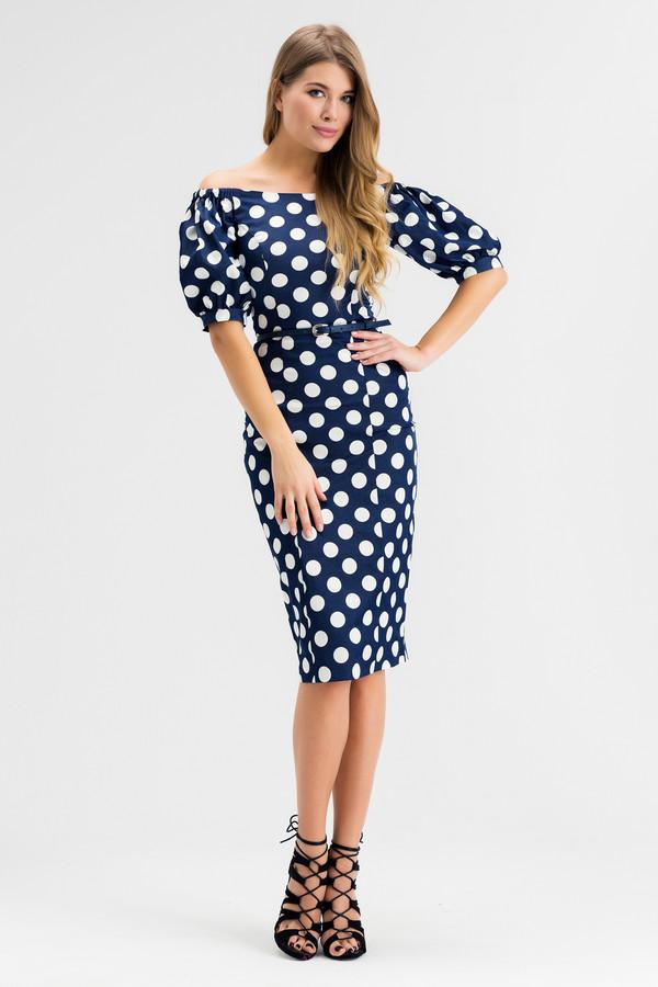 Платье XARIZMASПлатья<br><br><br>Размер RU: 44<br>Пол: Женский<br>Возраст: Взрослый<br>Материал: эластан 5%, полиэстер 25%, хлопок 70%<br>Цвет: Белый