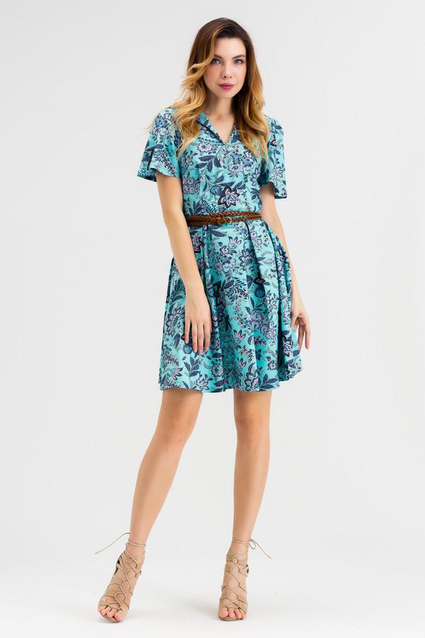 Платье XARIZMASПлатья<br><br><br>Размер RU: 44<br>Пол: Женский<br>Возраст: Взрослый<br>Материал: эластан 5%, хлопок 95%<br>Цвет: Синий