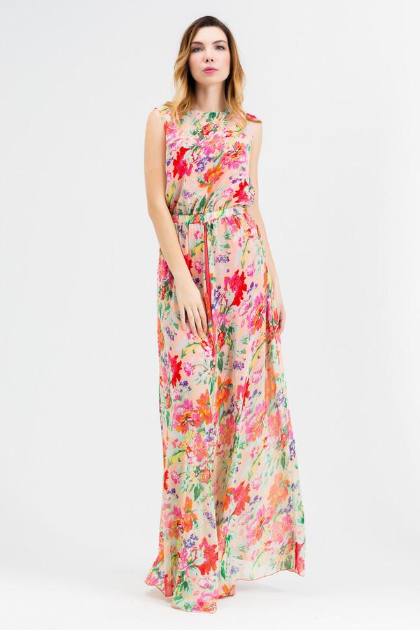 Платье XARIZMASПлатья<br><br><br>Размер RU: 40<br>Пол: Женский<br>Возраст: Взрослый<br>Материал: полиэстер 65%, вискоза 35%<br>Цвет: Разноцветный