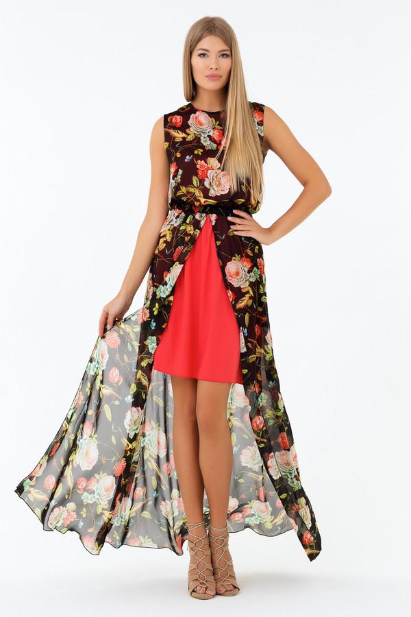 Платье XARIZMASПлатья<br><br><br>Размер RU: 44<br>Пол: Женский<br>Возраст: Взрослый<br>Материал: полиэстер 65%, вискоза 35%<br>Цвет: Разноцветный