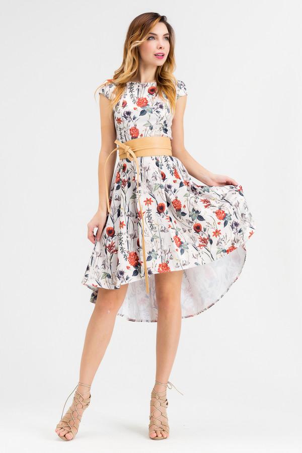 Платье XARIZMASПлатья<br><br><br>Размер RU: 48<br>Пол: Женский<br>Возраст: Взрослый<br>Материал: эластан 5%, полиэстер 25%, хлопок 70%<br>Цвет: Разноцветный