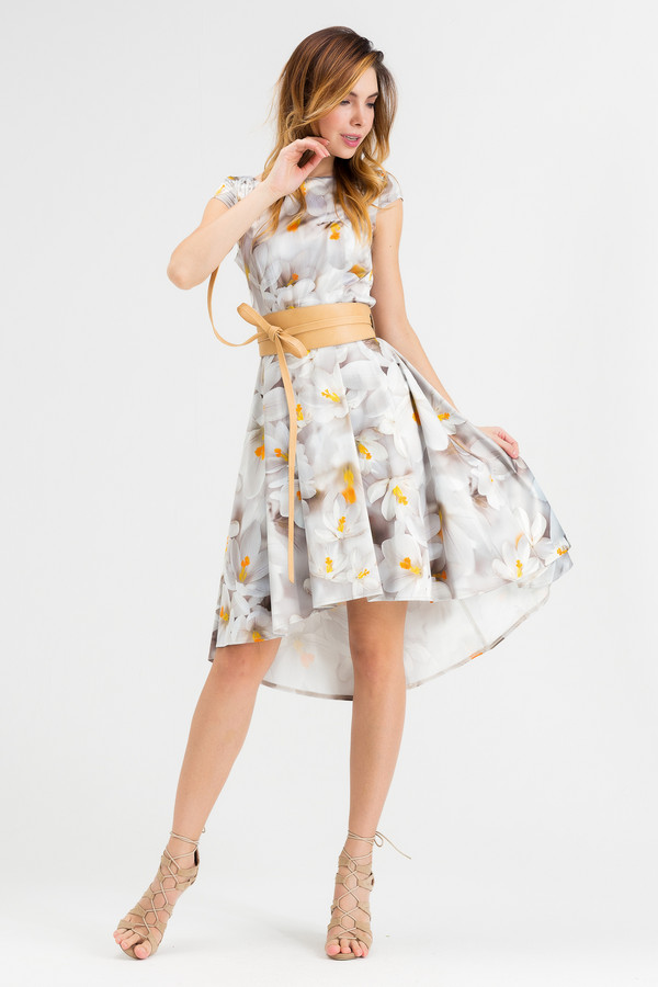 Платье XARIZMASПлатья<br><br><br>Размер RU: 40<br>Пол: Женский<br>Возраст: Взрослый<br>Материал: эластан 5%, полиэстер 25%, хлопок 70%<br>Цвет: Разноцветный