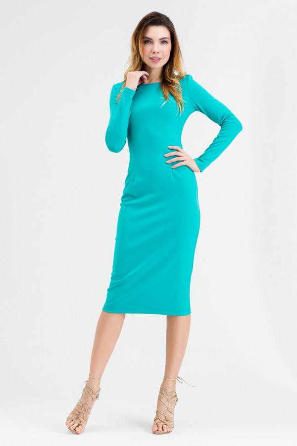 Платье XARIZMAS<br><br>Размер RU: 46<br>Пол: Женский<br>Возраст: Взрослый<br>Материал: эластан 5%, полиэстер 55%, вискоза 40%<br>Цвет: Голубой