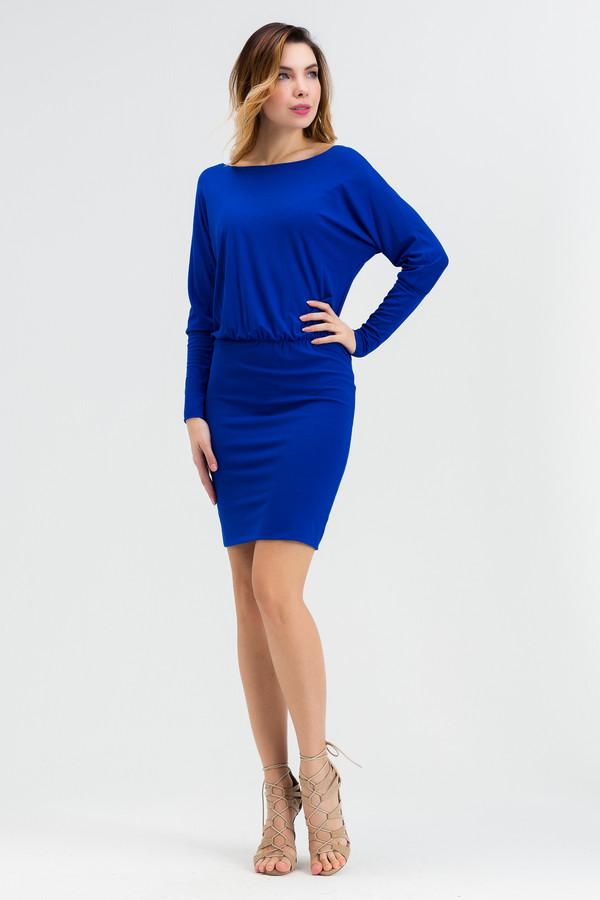 Платье XARIZMASПлатья<br><br><br>Размер RU: 52<br>Пол: Женский<br>Возраст: Взрослый<br>Материал: эластан 5%, вискоза 95%<br>Цвет: Синий