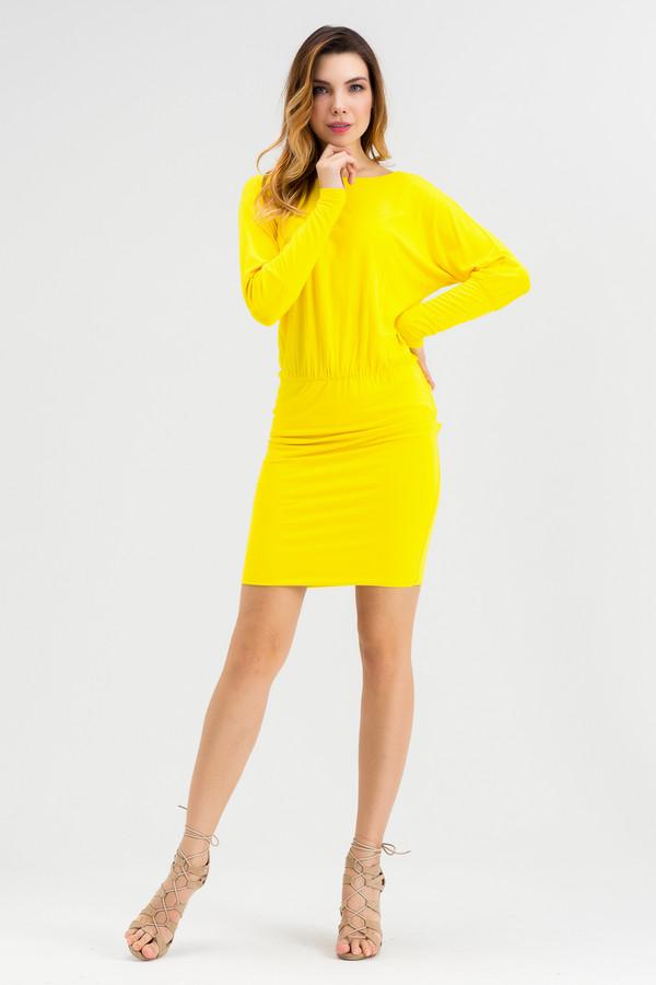 Платье XARIZMASПлатья<br><br><br>Размер RU: 44<br>Пол: Женский<br>Возраст: Взрослый<br>Материал: эластан 5%, вискоза 95%<br>Цвет: Жёлтый