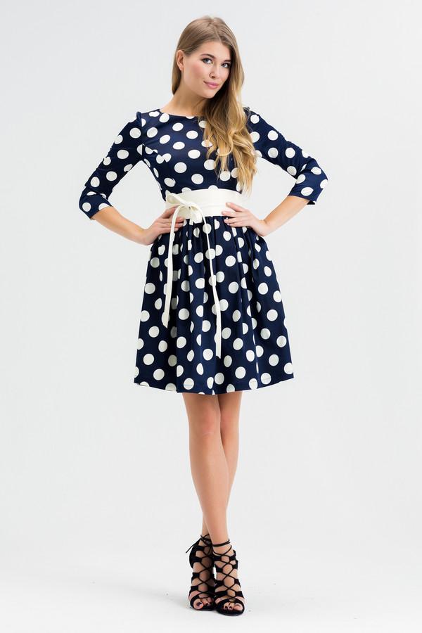 Платье XARIZMASПлатья<br><br><br>Размер RU: 52<br>Пол: Женский<br>Возраст: Взрослый<br>Материал: эластан 5%, полиэстер 25%, хлопок 70%<br>Цвет: Белый