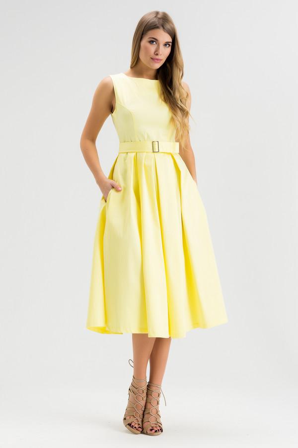 Платье XARIZMASПлатья<br><br><br>Размер RU: 40<br>Пол: Женский<br>Возраст: Взрослый<br>Материал: хлопок 100%<br>Цвет: Жёлтый