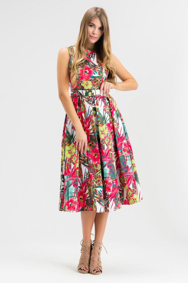 Платье XARIZMASПлатья<br><br><br>Размер RU: 46<br>Пол: Женский<br>Возраст: Взрослый<br>Материал: хлопок 100%<br>Цвет: Разноцветный