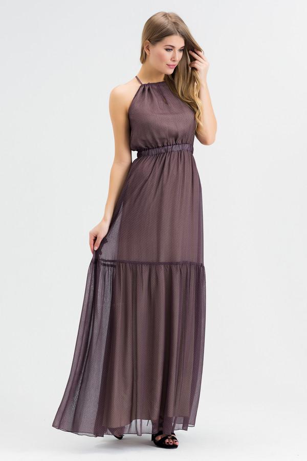 Платье XARIZMASПлатья<br><br><br>Размер RU: 44<br>Пол: Женский<br>Возраст: Взрослый<br>Материал: полиэстер 65%, вискоза 35%<br>Цвет: Коричневый