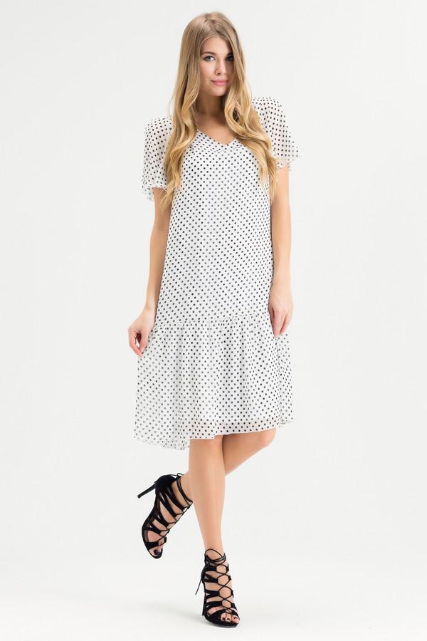 Платье XARIZMASПлатья<br><br><br>Размер RU: 46<br>Пол: Женский<br>Возраст: Взрослый<br>Материал: полиэстер 65%, вискоза 35%<br>Цвет: Чёрный