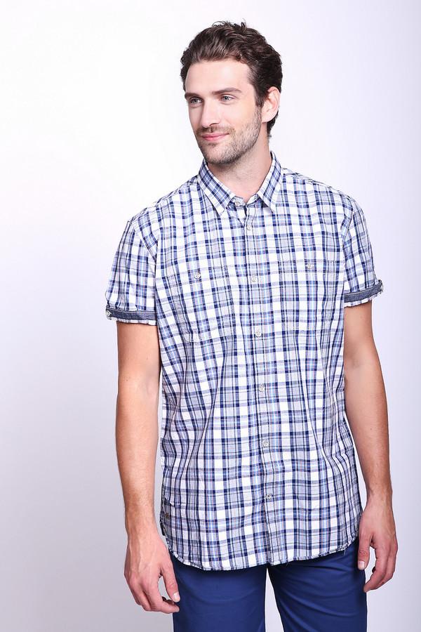 Мужские рубашки с коротким рукавом Tom Tailor