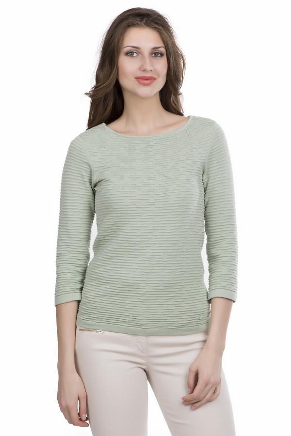 Пуловер Tom TailorПуловеры<br><br><br>Размер RU: 40-42<br>Пол: Женский<br>Возраст: Взрослый<br>Материал: хлопок 100%<br>Цвет: Зелёный
