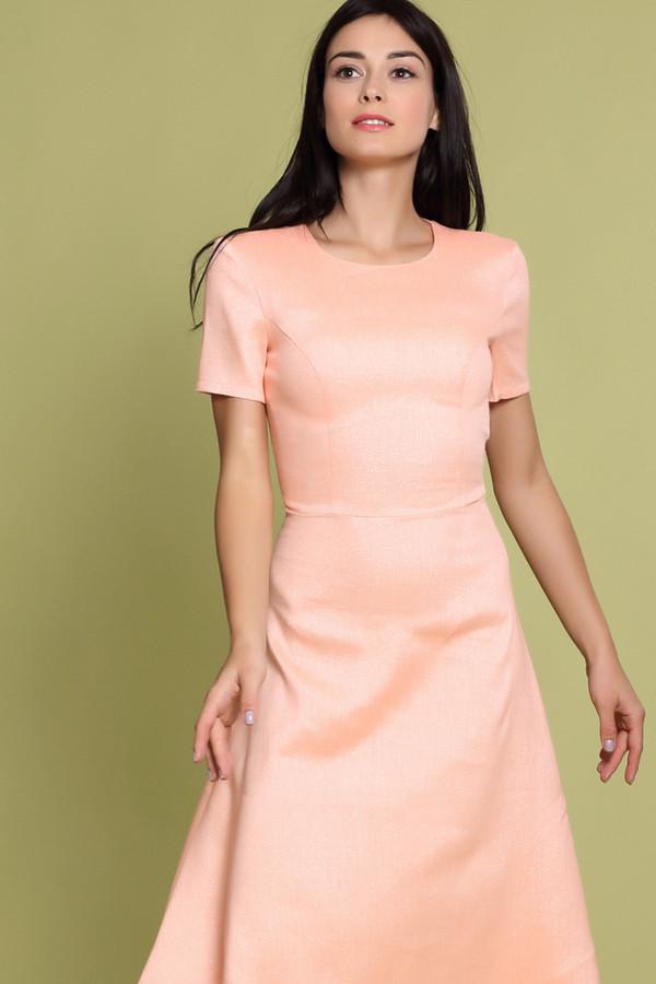 Платье XARIZMASПлатья<br><br><br>Размер RU: 50<br>Пол: Женский<br>Возраст: Взрослый<br>Материал: эластан 2%, полиэстер 22%, лен 55%, полиамид 1%, металл 9%, вискоза 11%<br>Цвет: Оранжевый