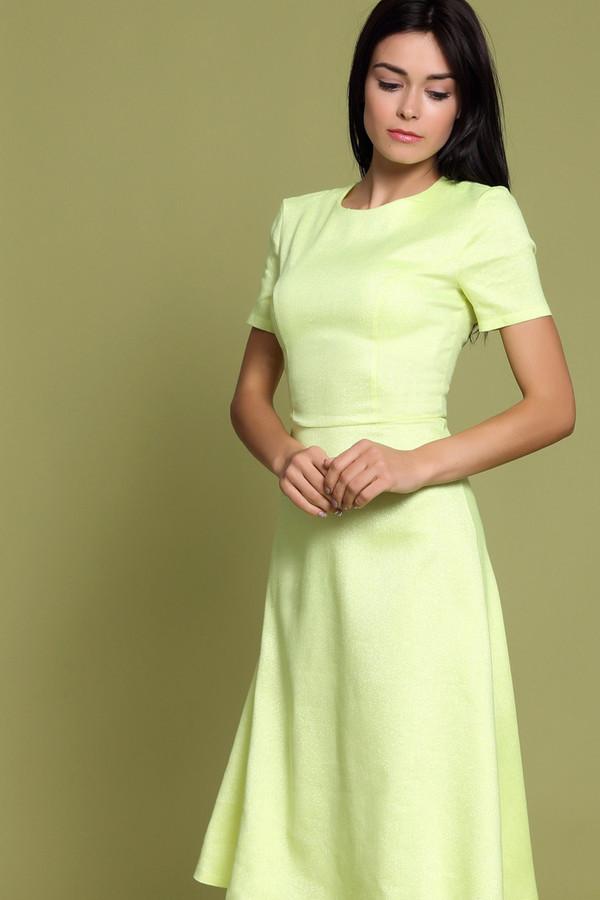 Платье XARIZMASПлатья<br><br><br>Размер RU: 48<br>Пол: Женский<br>Возраст: Взрослый<br>Материал: эластан 2%, полиэстер 22%, лен 55%, полиамид 1%, металл 9%, вискоза 11%<br>Цвет: Жёлтый