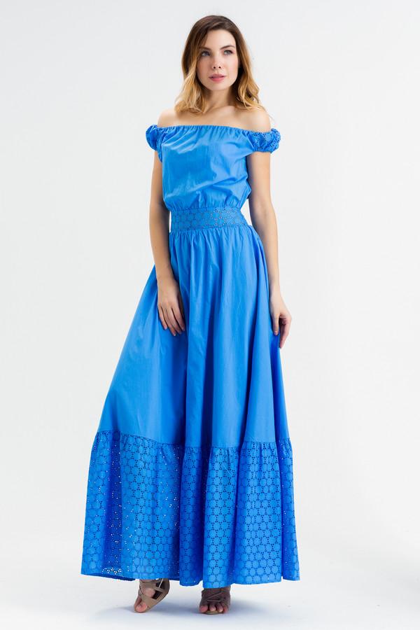 Платье XARIZMASПлатья<br><br><br>Размер RU: 44<br>Пол: Женский<br>Возраст: Взрослый<br>Материал: хлопок 100%<br>Цвет: Синий