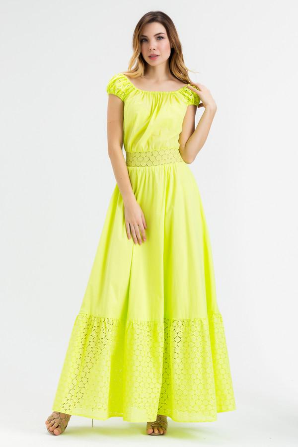 Платье XARIZMASПлатья<br><br><br>Размер RU: 46<br>Пол: Женский<br>Возраст: Взрослый<br>Материал: хлопок 100%<br>Цвет: Жёлтый