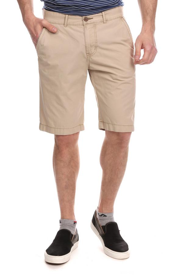 Шорты CalamarШорты<br>Шорты удлиненного прямого покроя - неотъемлемая вещь на лето. Мужские шорты выполнены из 100% хлопка, внизу изделие украшает широкий манжет, спереди два кармана, сзади карманы на пуговицах, на поясе - шлевки для ремня. Цвет бежевый, как раз для лета. Такие классические шорты можно носить как в условиях города, так и на отдыхе, будь то морской пляж или лесной массив.<br><br>Размер RU: 48<br>Пол: Мужской<br>Возраст: Взрослый<br>Материал: хлопок 100%<br>Цвет: Бежевый