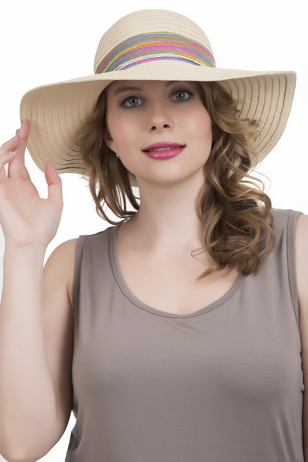 Шляпа WegenerШляпы<br><br><br>Размер RU: один размер<br>Пол: Женский<br>Возраст: Взрослый<br>Материал: полиэстер 10%, бумага 90%<br>Цвет: Бежевый