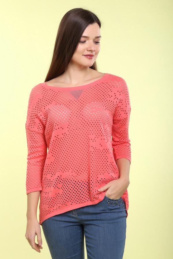 Пуловер Betty BarclayПуловеры<br>Пуловер Betty Barclay женский. Ажурный красный пуловер не оставит вас равнодушной. Узкий рукав 3/4 с заниженной проймой, круглый вырез горловины с оригинальным украшением стразами, красивый рисунок вязки – всё это достоинства данной модели. В таком пуловере вы всегда будете выглядеть нарядно и эффектно. Вещь - на все случаи жизни. Состав: полиакрил, хлопок.<br><br>Размер RU: 52<br>Пол: Женский<br>Возраст: Взрослый<br>Материал: хлопок 50%, полиакрил 50%<br>Цвет: Красный