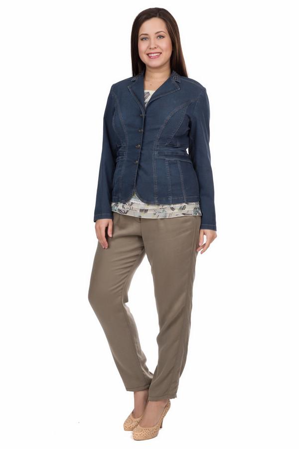 Жакет Betty BarclayЖакеты<br>Жакет Betty Barclay синий. Джинсы и вещи в джинсовом стиле вот уже много десятилетий на пике своей популярности. И в этом нет ничего удивительного: такие модели, как правило, комфортны, удобны и практичны. Что может быть удобнее, чем такой материал? Пожалуй, ничего. Этот жакет – удачный выбор для самых разных ситуаций: прогулки с друзьями или вылазки за город. Состав: эластан, вискоза и полиэстер.<br><br>Размер RU: 46<br>Пол: Женский<br>Возраст: Взрослый<br>Материал: вискоза 75%, эластан 4%, полиэстер 21%<br>Цвет: Синий
