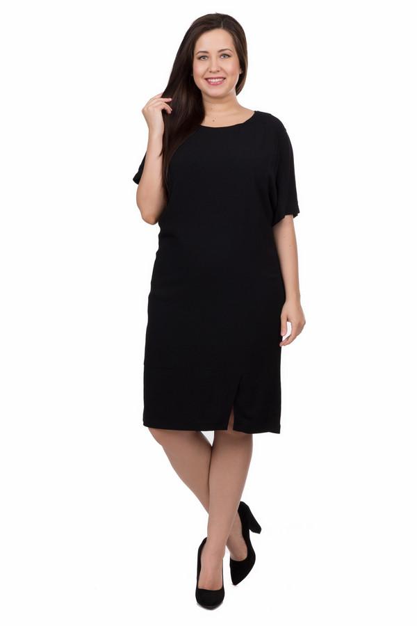 Платье SamoonПлатья<br><br><br>Размер RU: 48<br>Пол: Женский<br>Возраст: Взрослый<br>Материал: вискоза 100%<br>Цвет: Чёрный