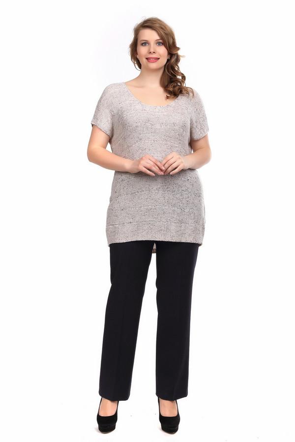 Пуловер SamoonПуловеры<br><br><br>Размер RU: 46<br>Пол: Женский<br>Возраст: Взрослый<br>Материал: полиамид 40%, полиакрил 60%<br>Цвет: Серый
