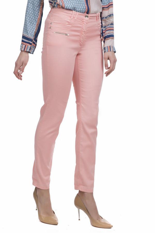 Джинсы Betty BarclayДжинсы<br>повтор<br><br>Размер RU: 50<br>Пол: Женский<br>Возраст: Взрослый<br>Материал: эластан 2%, хлопок 35%, лиоцел 63%<br>Цвет: Розовый