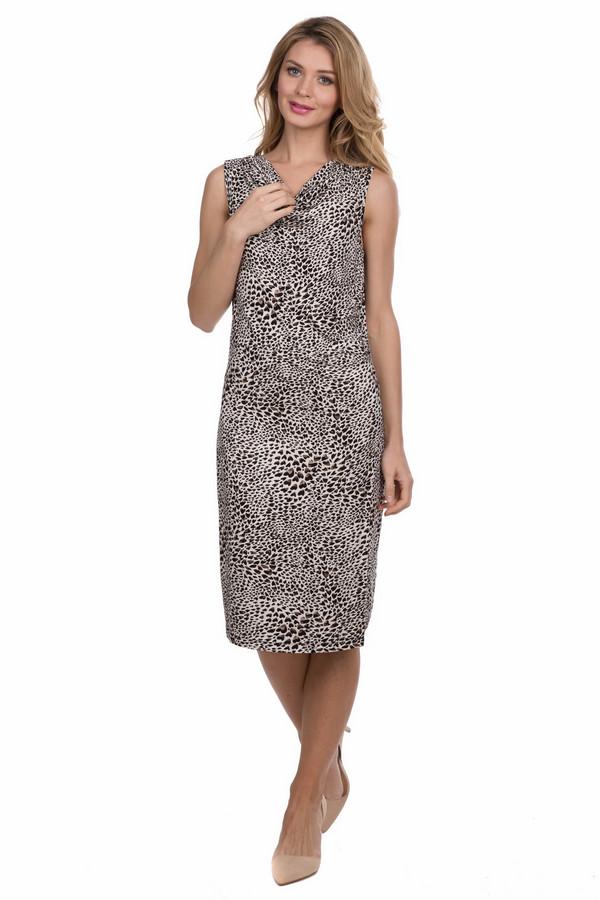 Платье Via AppiaПлатья<br><br><br>Размер RU: 50<br>Пол: Женский<br>Возраст: Взрослый<br>Материал: эластан 5%, вискоза 95%<br>Цвет: Разноцветный
