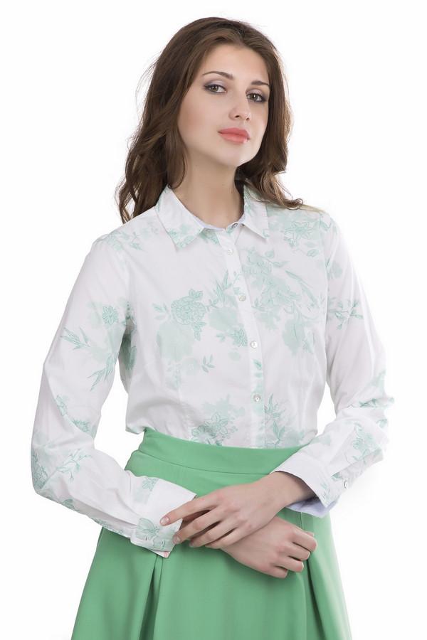Блузa ArqueonautasБлузы<br>Блуза Arqueonautas бело-зеленая. Отличный выбор для женщины вне зависимости от ее возраста. Актуальная модель с застежкой спереди на пуговицы и с лаконичным растительным орнаментом отлично впишется в ваш гардероб. Такая блузка – чудесное решение, если вам хочется выглядеть в офисе в одно и то же время строго и женственно. Состав: 100%-ный хлопок. Демисезонная вещь.<br><br>Размер RU: 42-44<br>Пол: Женский<br>Возраст: Взрослый<br>Материал: хлопок 100%<br>Цвет: Зелёный
