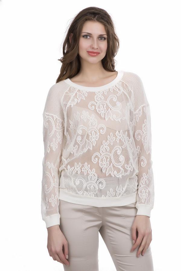 Пуловер SetПуловеры<br><br><br>Размер RU: 44<br>Пол: Женский<br>Возраст: Взрослый<br>Материал: полиэстер 100%<br>Цвет: Белый