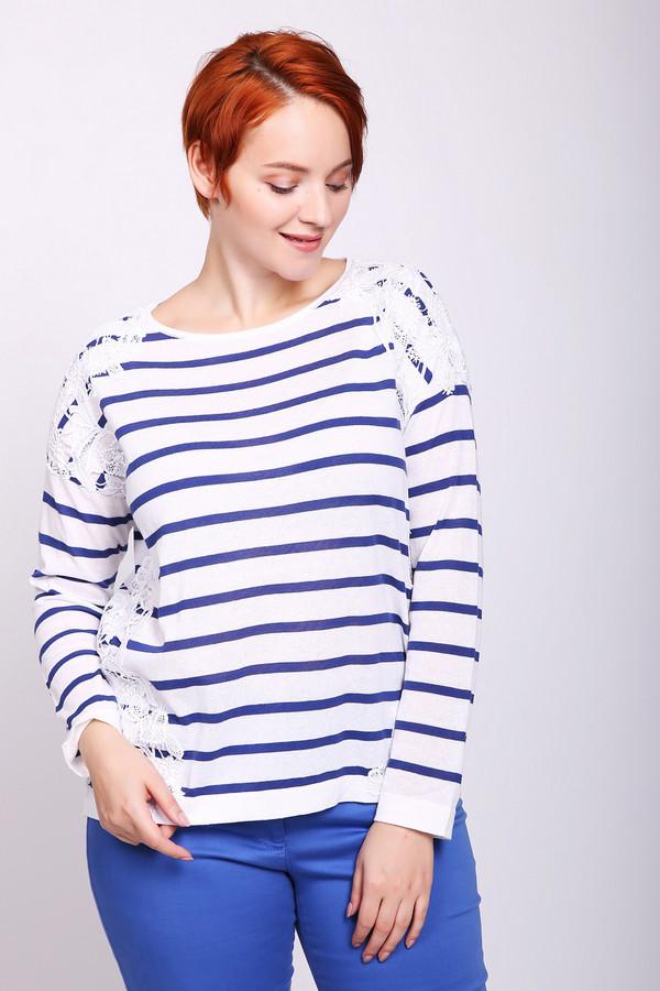 женский пуловер luisa cerano, синий