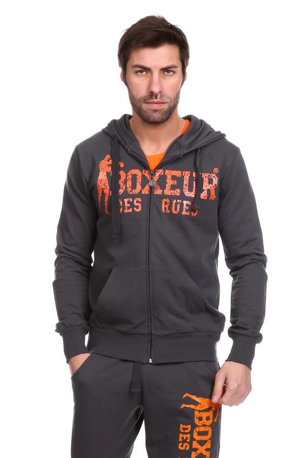 Куртка Boxeur Des RuesКуртки<br><br><br>Размер RU: 46<br>Пол: Мужской<br>Возраст: Взрослый<br>Материал: хлопок 100%<br>Цвет: Серый