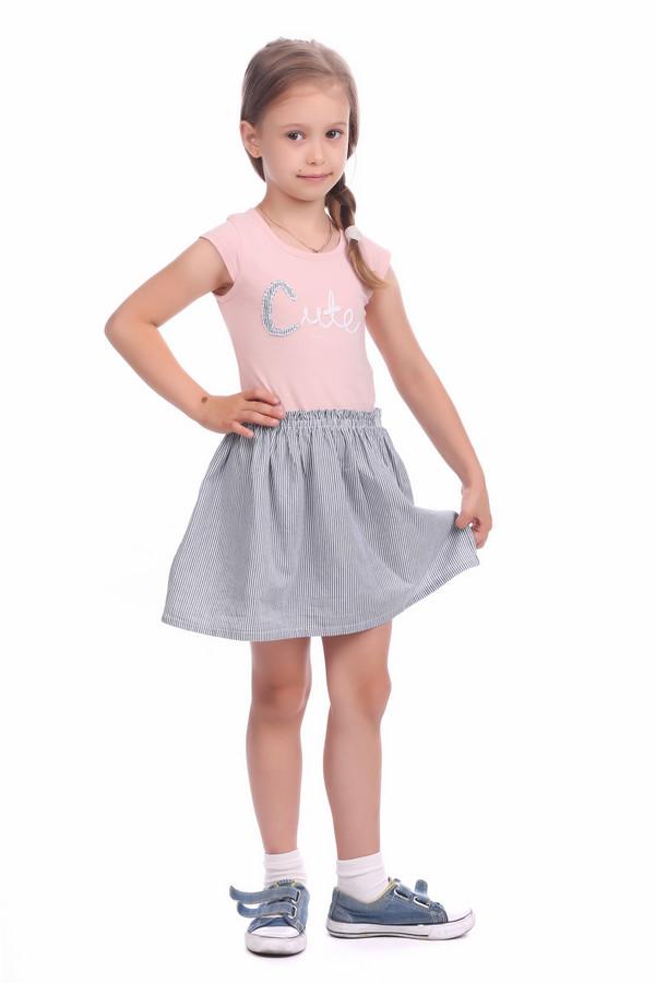 Платье Tom TailorПлатья<br><br><br>Размер RU: 28;104-110<br>Пол: Женский<br>Возраст: Детский<br>Материал: хлопок 100%<br>Цвет: Синий