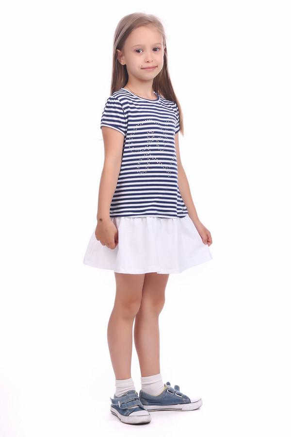 Платье SarabandaПлатья<br><br><br>Размер RU: 26;98<br>Пол: Женский<br>Возраст: Детский<br>Материал: см. на вшивном ярлыке 0%<br>Цвет: Синий