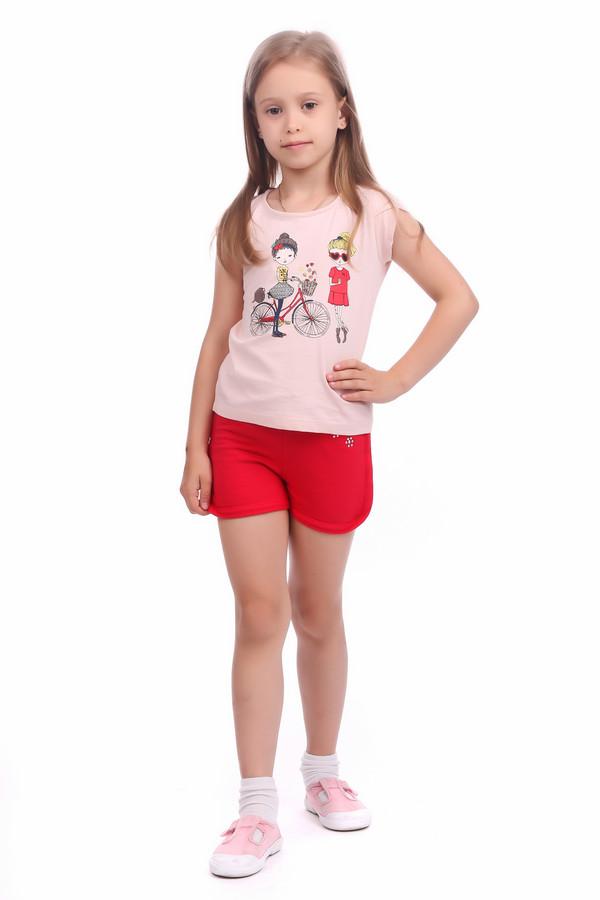 Брюки SarabandaБрюки<br><br><br>Размер RU: 28;104<br>Пол: Женский<br>Возраст: Детский<br>Материал: см. на вшивном ярлыке 0%<br>Цвет: Красный