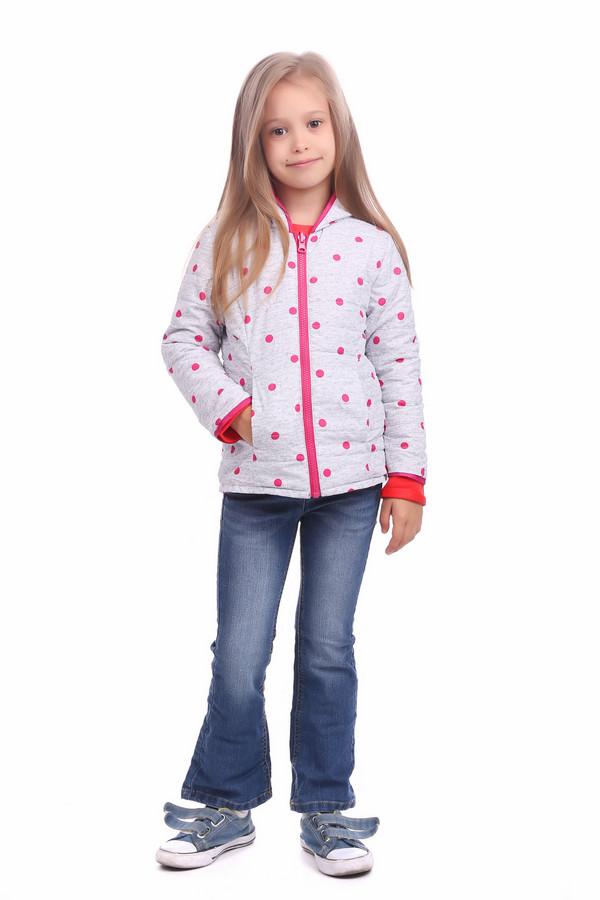Куртка SarabandaКуртки<br><br><br>Размер RU: 26;98<br>Пол: Женский<br>Возраст: Детский<br>Материал: см. на вшивном ярлыке 0%<br>Цвет: Серый