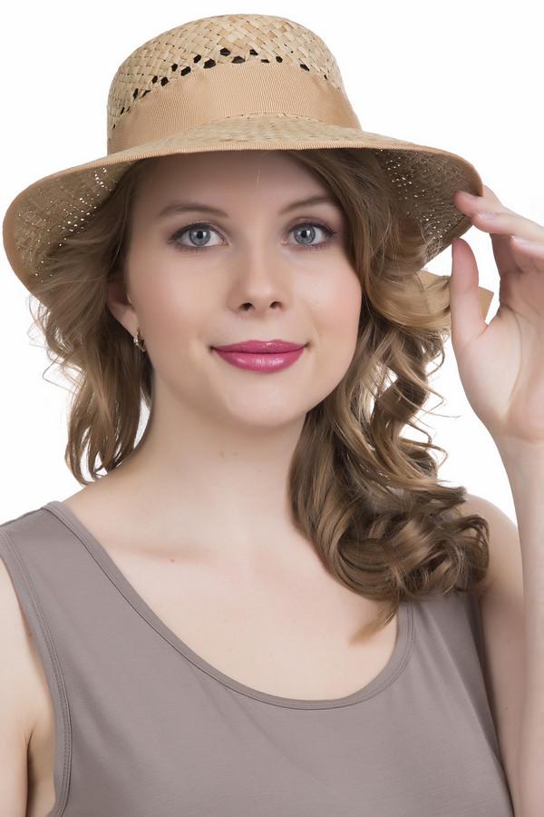 Шляпа WegenerШляпы<br><br><br>Размер RU: один размер<br>Пол: Женский<br>Возраст: Взрослый<br>Материал: солома 100%<br>Цвет: Бежевый