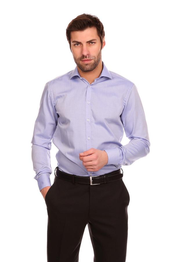 Рубашка с длинным рукавом VentiДлинный рукав<br><br><br>Размер RU: 41<br>Пол: Мужской<br>Возраст: Взрослый<br>Материал: хлопок 100%<br>Цвет: Голубой