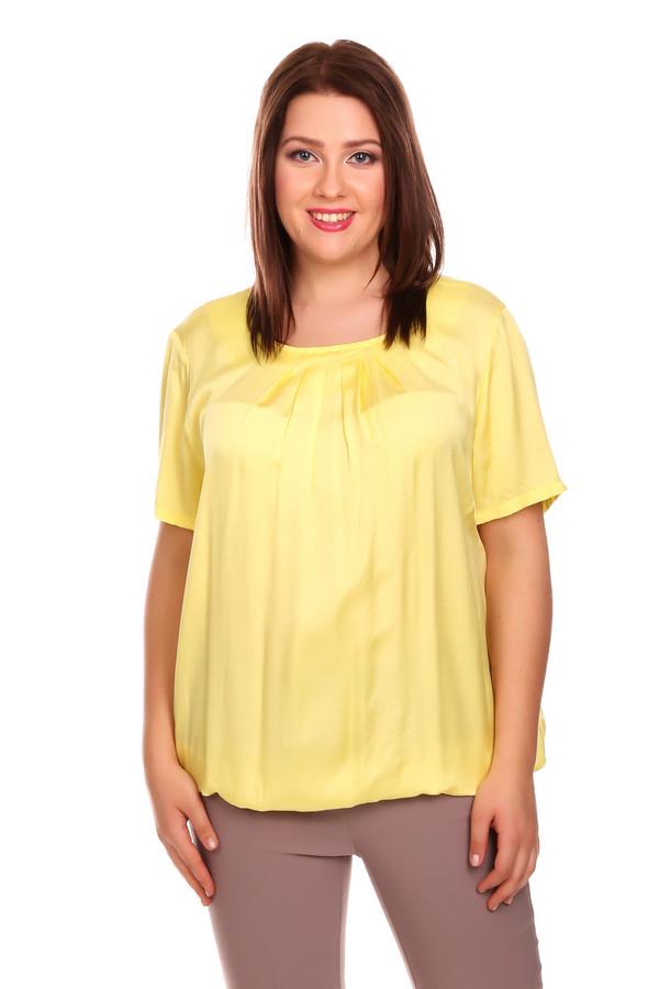 Блузa SteilmannБлузы<br><br><br>Размер RU: 50<br>Пол: Женский<br>Возраст: Взрослый<br>Материал: вискоза 100%<br>Цвет: Жёлтый